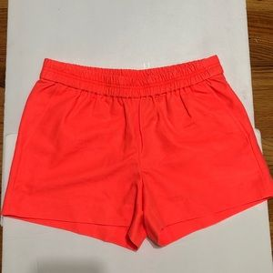 J. Crew COTTON FAILLE PULL-ON SHORT XS NWT